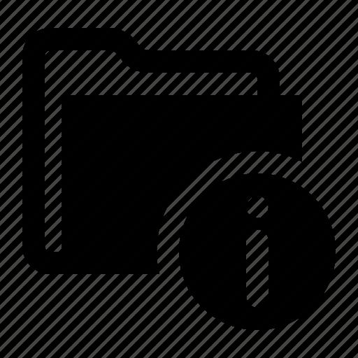 archive, folder, help, info, information, storage, watchkit icon