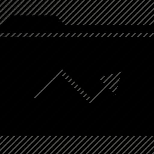 analytics, arrow, seo, tool icon