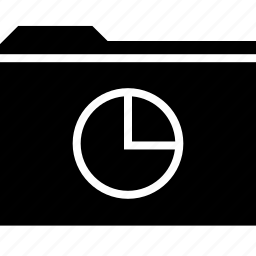 archive, chart, folder, graph, report icon