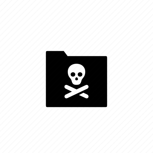 dead, folder icon