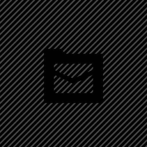 folder, mails icon