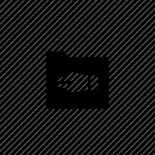 folder, writings icon