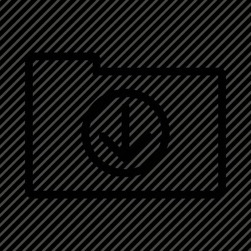 archive, cloud, downloads, folder, guardar, save icon