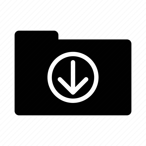 archives, cloud, data, downloads, folder icon