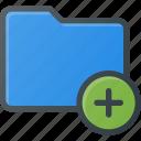 add, directory, folder icon