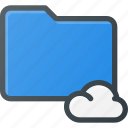 cloud, directory, folder icon