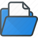 directory, document, file, folder icon