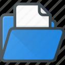 directory, document, file, folder icon