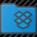 directory, dropbox, folder icon