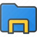 directory, dock, explorer, folder, holder icon
