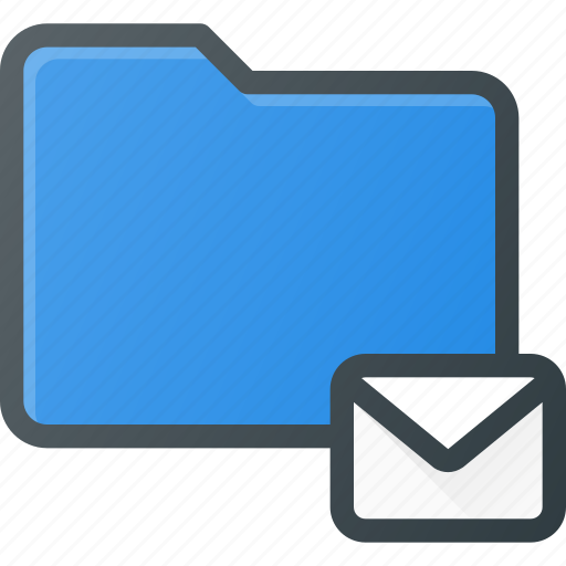 directory, email, folder, mail icon