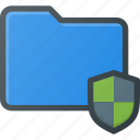 directory, folder, protect, secure, shield