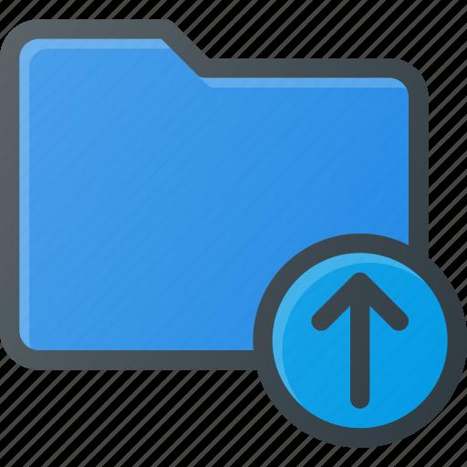 Directory, folder, upload icon - Download on Iconfinder
