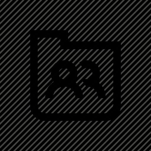Folder, organize, shared icon - Download on Iconfinder