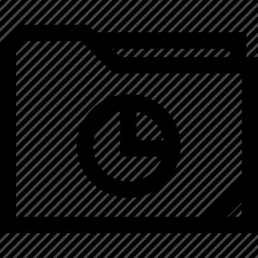 chart, graph, report icon