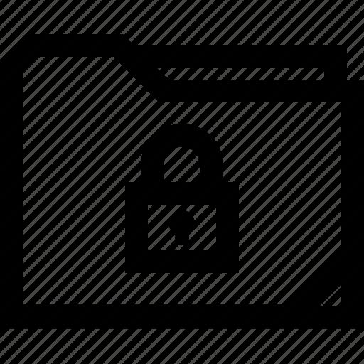 file, folder, lock, locked icon