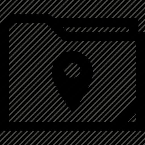 find, gps, location icon