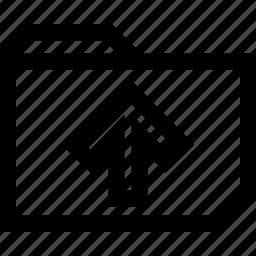 folder, high, sales icon