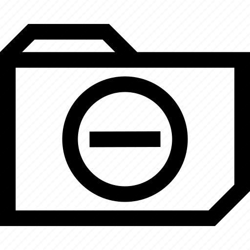 file, folder, line, negative, neutral icon