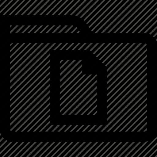 file, folder, page, save icon