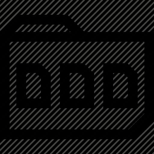 data, docuements, file, save, three icon