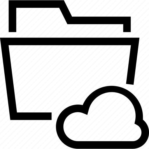 backup, cast, cloud, clouds, folder, online, save icon