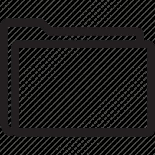 empty, folder, new icon