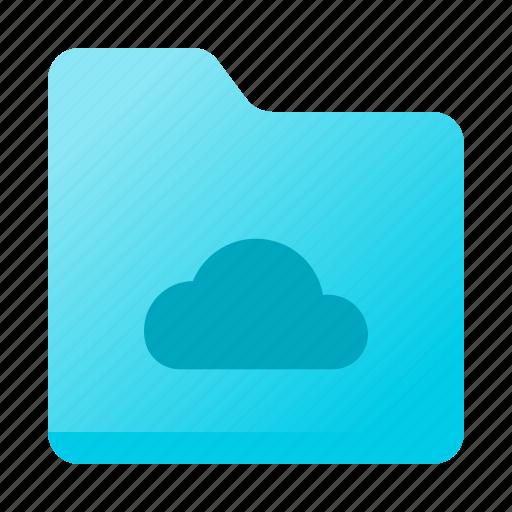 Cloud, data, folder, forecast, weather icon - Download on Iconfinder