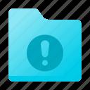 document, folder, info, warning
