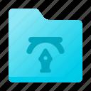archive, creative, design, folder, graphic icon