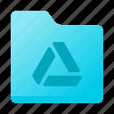 document, drive, folder, google icon