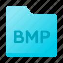 bmp, document, folder, format, paper icon