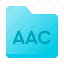 aac, document, folder, page