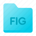 document, fig, figma, folder, page, paper icon