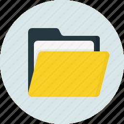doc, document, folder, open icon