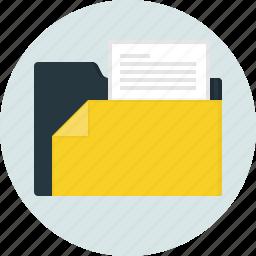 close, doc, document, folder icon