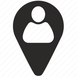 follower, geo, location, login, man, point, user icon