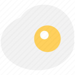 breakfast, cooked egg, egg, food, fried egg icon