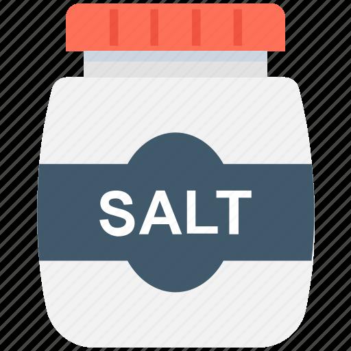 cooking ingredient, salt, salt cellar, salt container, salt jar icon