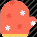chef glove, kitchen glove, mitten, oven mitt, pot holder