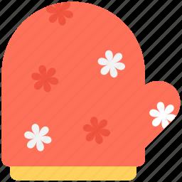 chef glove, kitchen glove, mitten, oven mitt, pot holder icon