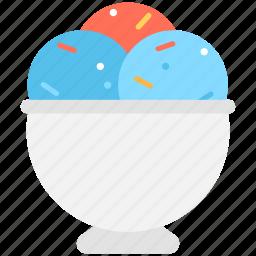 dessert, frozen dessert, ice cream, ice cream cup, sweet food icon