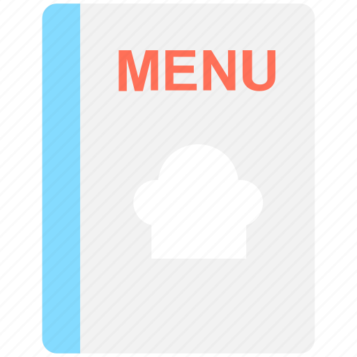 cuisine menu, food menu, menu, menu book, menu card icon