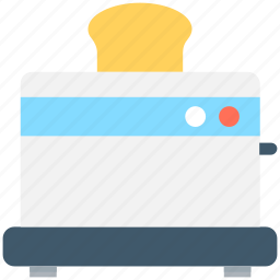 electronics, sandwich toaster, slice toaster, toast machine, toaster icon