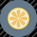 citrus, food, fruit, lemon slice, orange slice