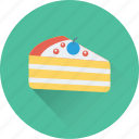 bakery, cake piece, dessert, food, sweet icon