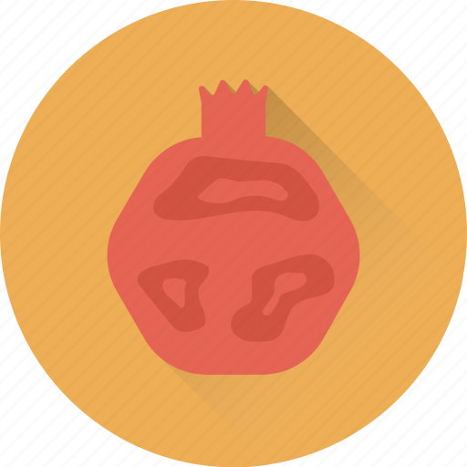 diet, eat, food, fruit, pomegranate icon