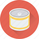 can, can food, food, kitchen, tin icon
