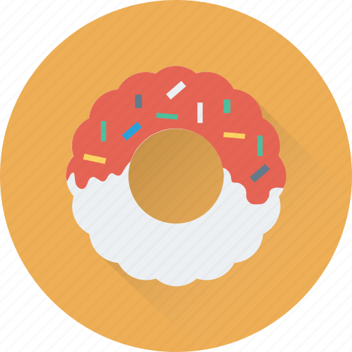 bakery, confectionery, donut, doughnut, food icon