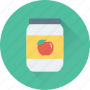 food, jam, jar, jelly, marmalade icon